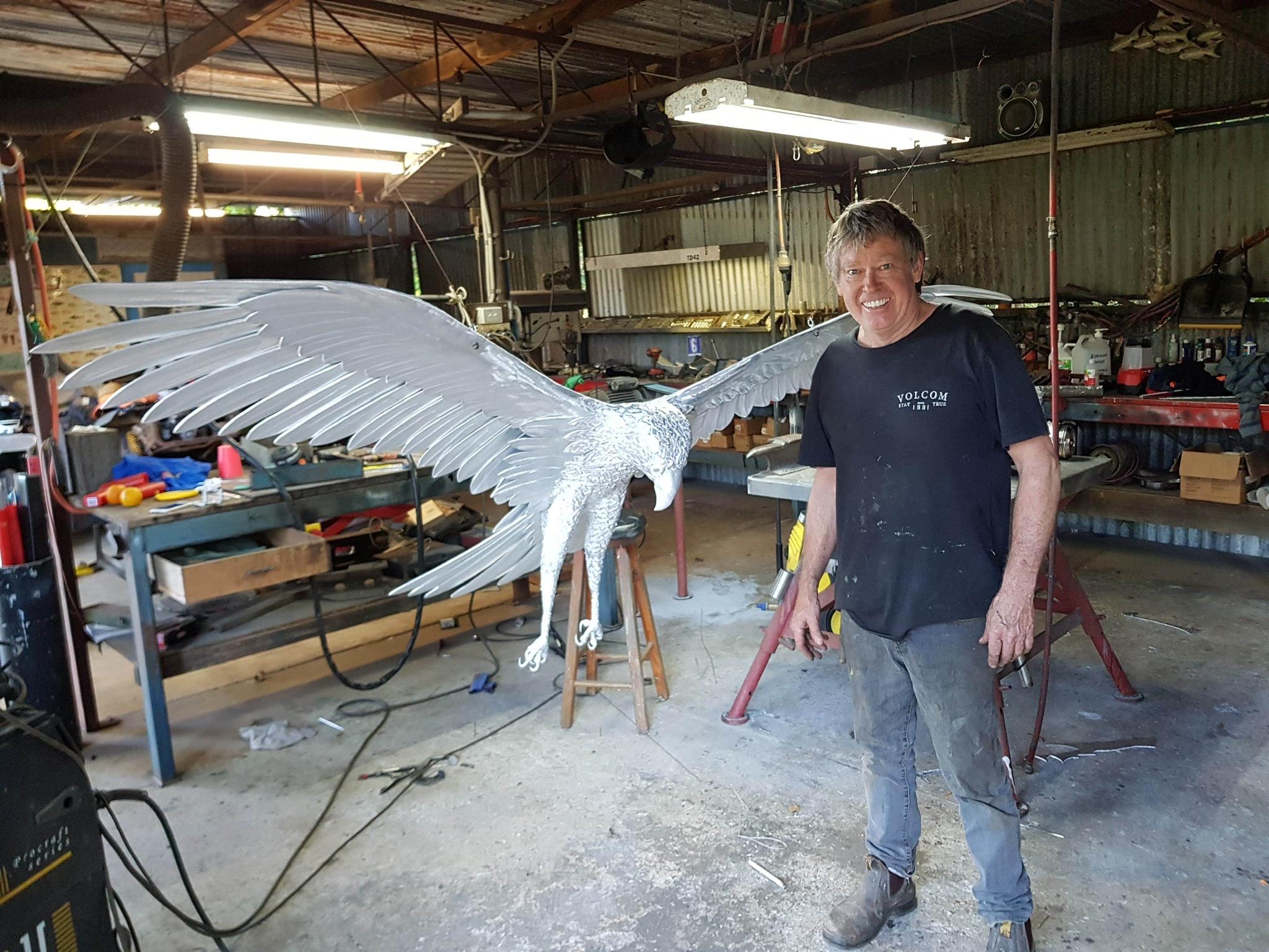 Osprey Sculpture