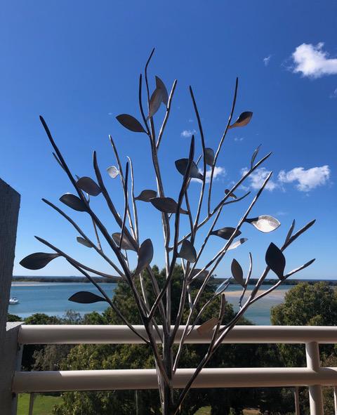 Stainless Steel Tree Sculpture